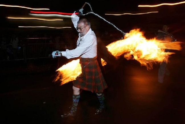 Новогодние традиции Шотландии